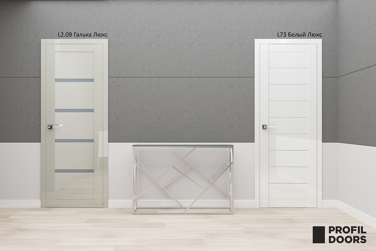 Актуальные оттенки межкомнатных дверей