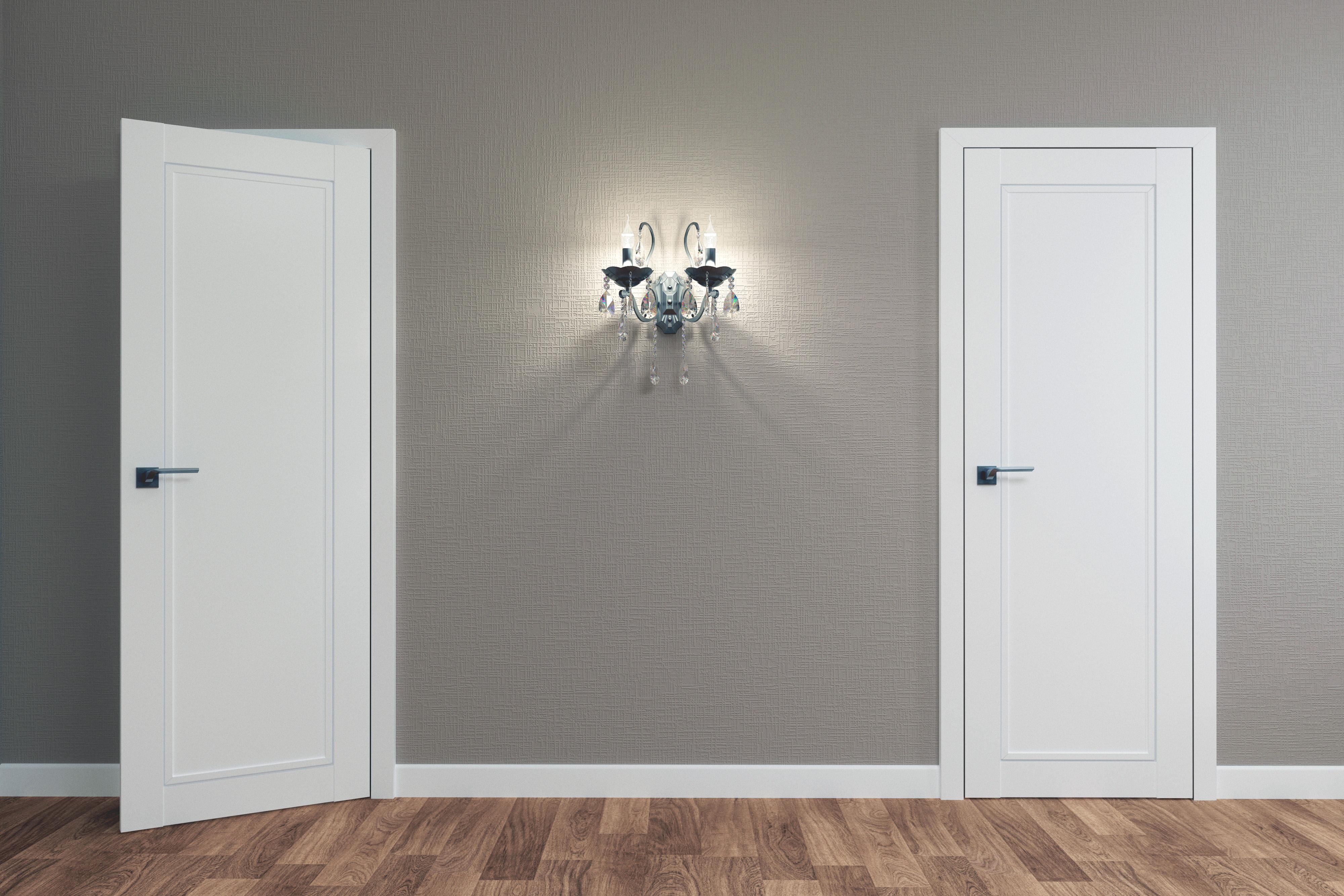 Как подобрать двери для интерьера в стиле хай-тек?