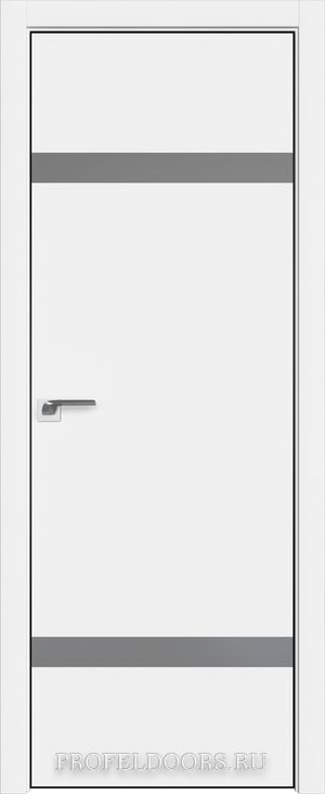 3E Аляска Lacobel Серебряный лак Black Edition с 4-х сторон