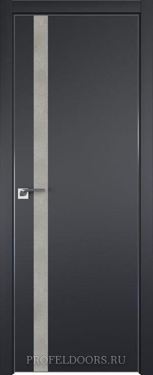 53E Аляска Lacobel Серебряный лак в цвет двери ABS черная матовая с 4-х сторон