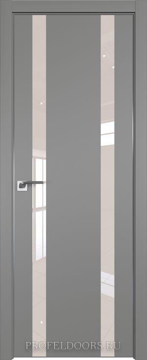 59E Аляска Lacobel Серебряный лак в цвет двери ABS в цвет с 4-х сторон