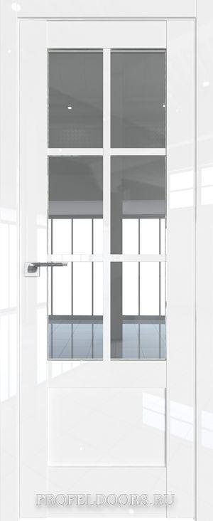 37L Белый люкс Прозрачное