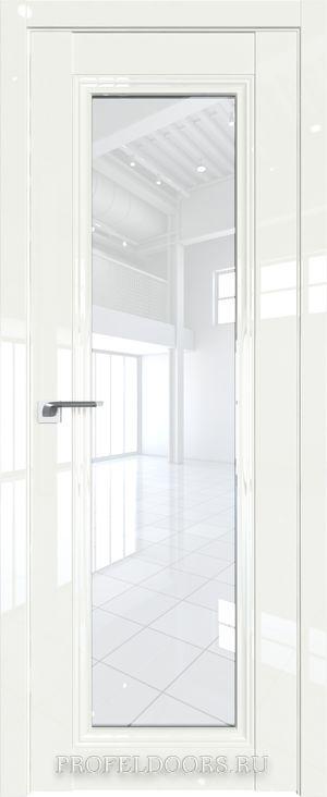 24L Белый люкс Узор матовое Серебро