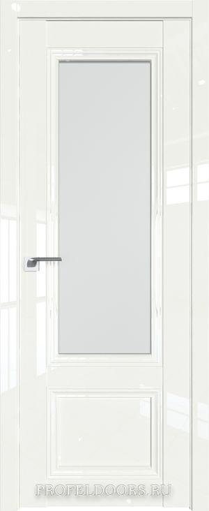 2L Белый люкс Узор матовое с прозрачным фьюзингом(ромб)