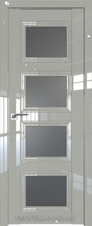 26L Белый люкс Кристалл матовый Серебро