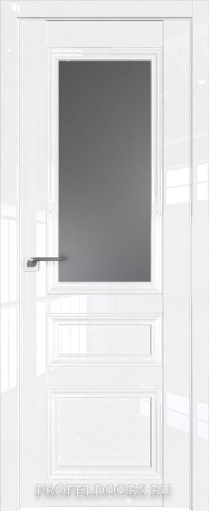 119L Белый люкс Прозрачное