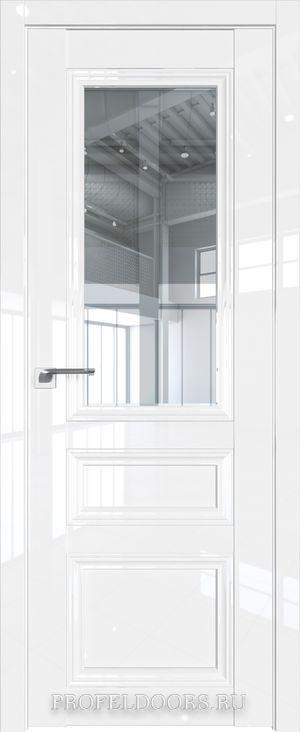 129L Белый люкс Прозрачное