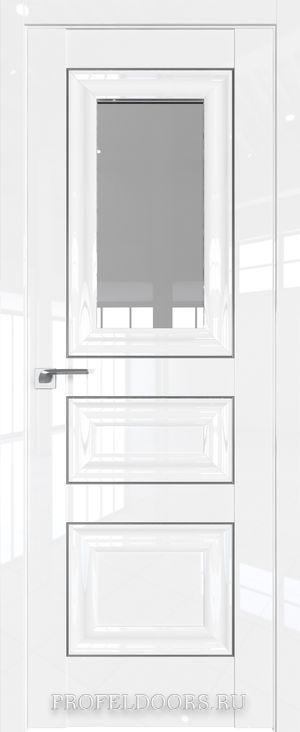 26L Белый люкс Прозрачное Серебро