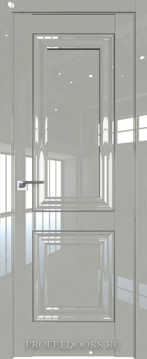121L Белый люкс Прозрачное