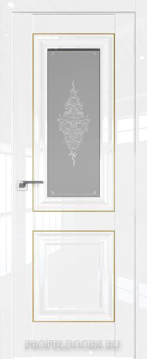 28L Белый люкс Кристалл графит Золото