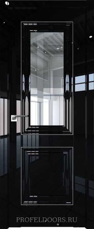 28L Черный люкс Прозрачное Серебро