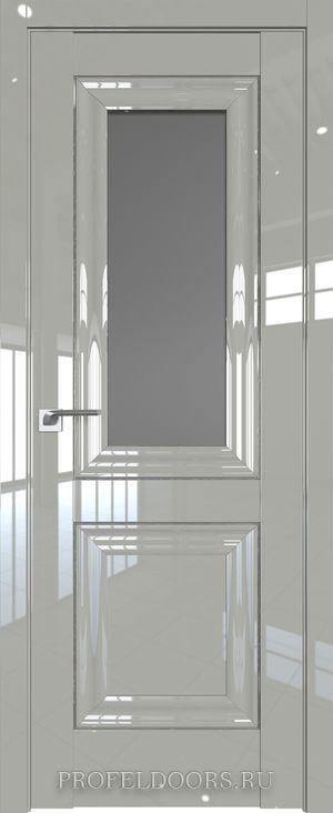 45L Белый люкс Прозрачное