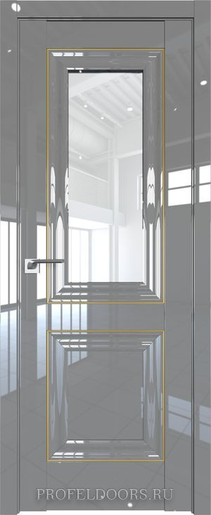2L Черный люкс Узор матовое с прозрачным фьюзингом(ромб)