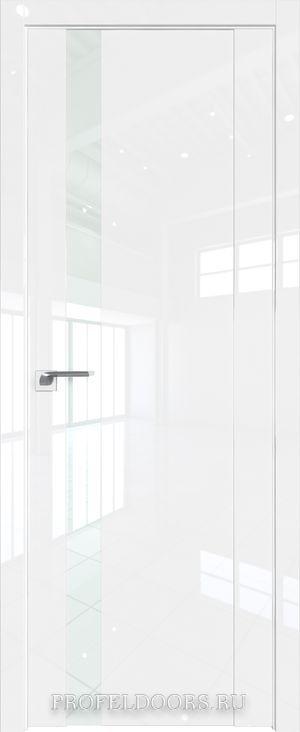 62L Белый люкс Lacobel Белый лак