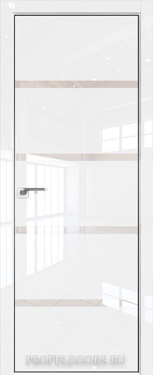 16LK Белый люкс Lacobel Серебряный лак Матовая с 4-х сторон