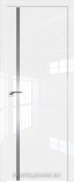 22LK Белый люкс Lacobel Серебряный лак ABS в цвет с 4-х сторон