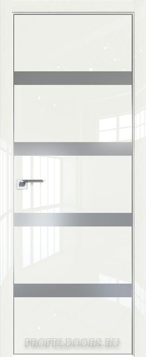 26LK Белый люкс Lacobel Серебряный лак Матовая с 4-х сторон