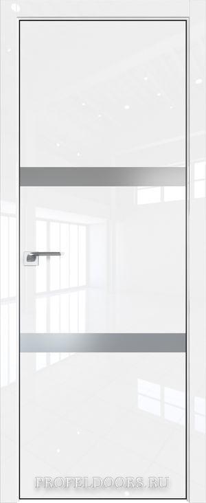 30LK Белый люкс Lacobel Серебряный лак Black Edition с 4-х сторон