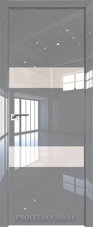20LK Белый люкс Lacobel Серебряный лак Матовая с 4-х сторон