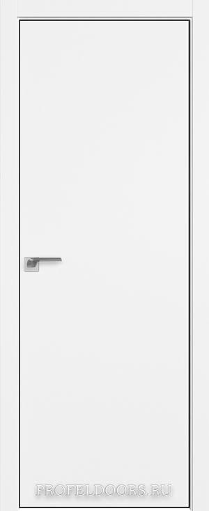 1SMK Белый матовый Black Edition с 4-х сторон