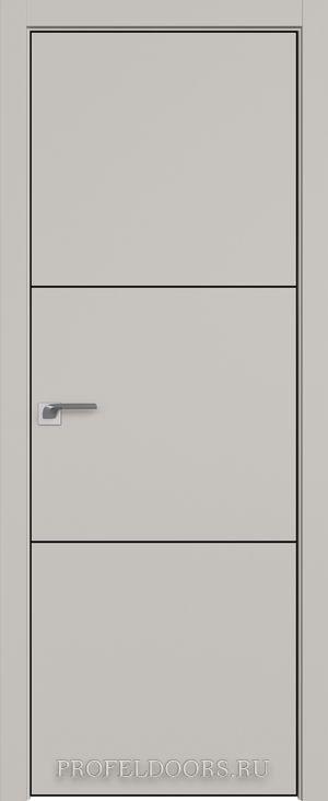 42SMK Белый матовый ABS черная матовая с 4-х сторон