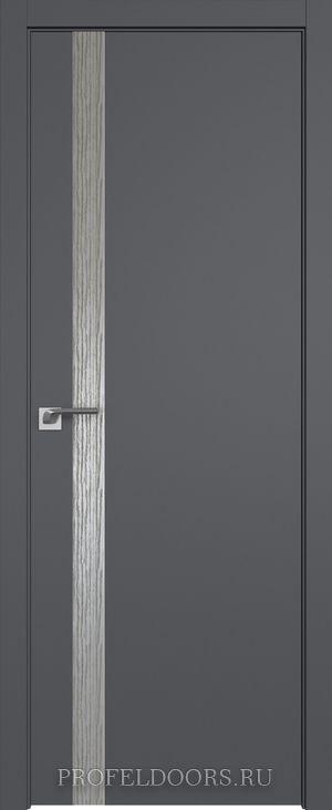 6SMK Белый матовый Lacobel Серебряный лак Матовая с 4-х сторон