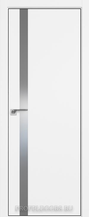 6SMK Белый матовый Lacobel Серебряный лак Black Edition с 4-х сторон