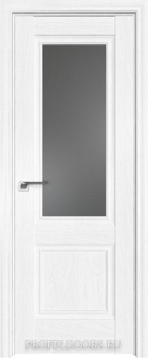 2X Эш Вайт Узор матовое с прозрачным фьюзингом(ромб)