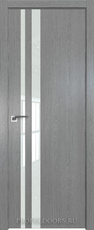 50ZN Грувд серый в цвет двери ABS черная матовая с 4-х сторон
