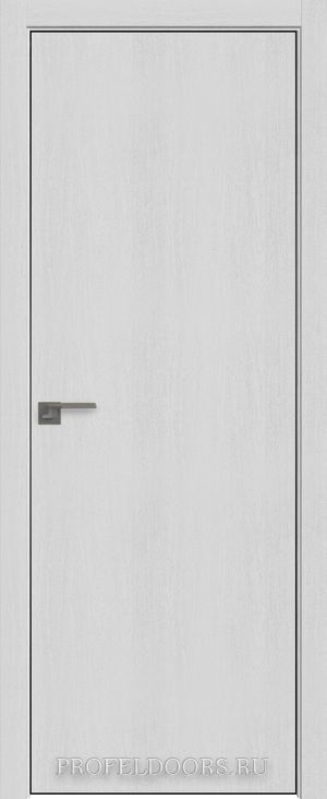 52ZN Монблан в цвет двери ABS черная матовая с 4-х сторон