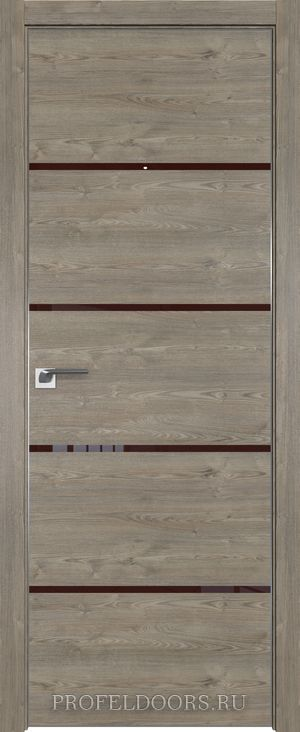 59ZN Грувд серый Lacobel Серебряный лак в цвет двери ABS в цвет с 4-х сторон