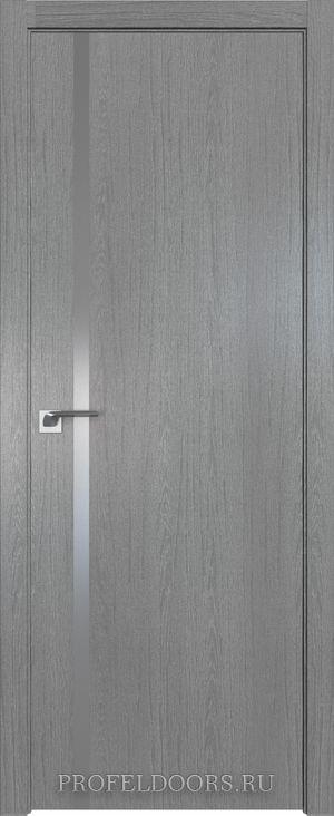 22ZN Грувд серый Lacobel Серебряный лак ABS в цвет с 4-х сторон