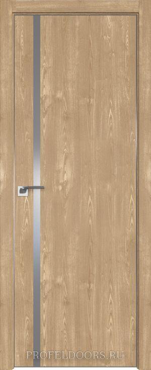 58ZN Грувд серый в цвет двери ABS черная матовая с 4-х сторон