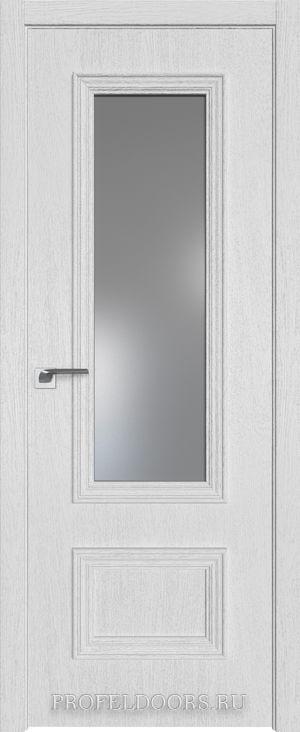 25ZN Грувд серый Lacobel Серебряный лак Матовая с 4-х сторон
