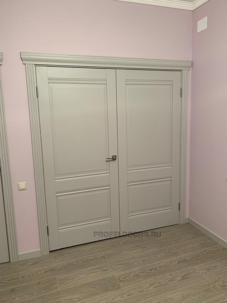 Пример №6 установленой двери