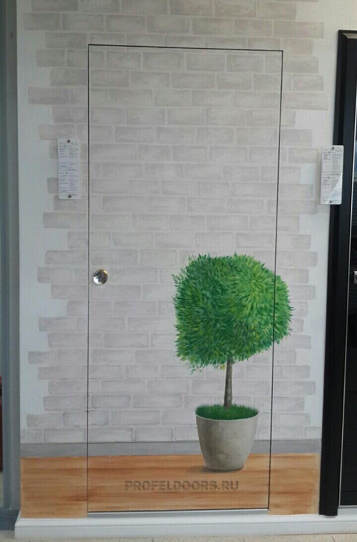 Пример №8 установленой двери